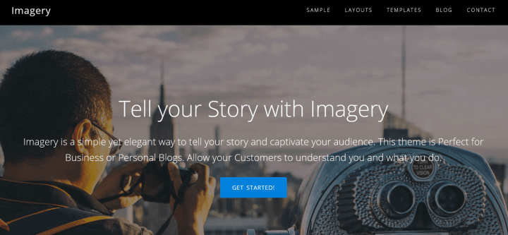 Imagery – 3rd Party Genesis Framework Theme