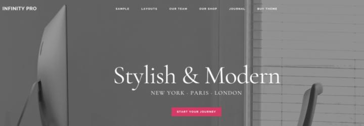 Infinity Pro – StudioPress Sites Theme