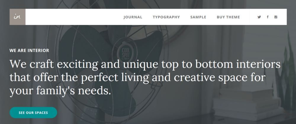Interior Pro – StudioPress Sites Theme
