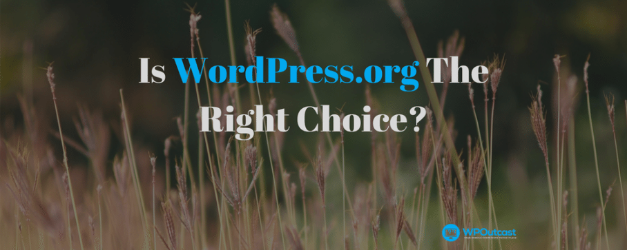 Is WordPress.org The Right Choice – I Have Little Money