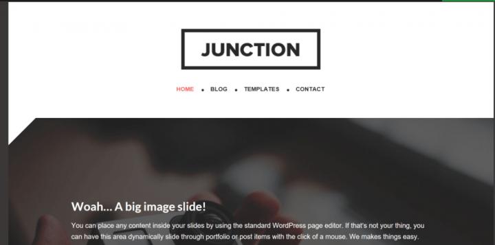 Junction – 3rd Party Genesis Framework Theme