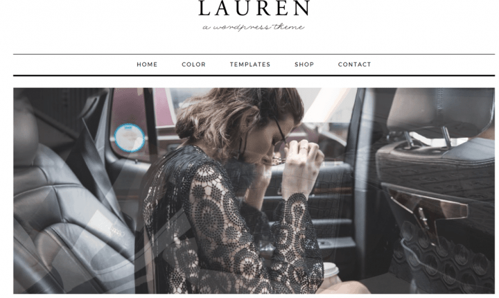Lauren – 3rd Party Genesis Framework Theme