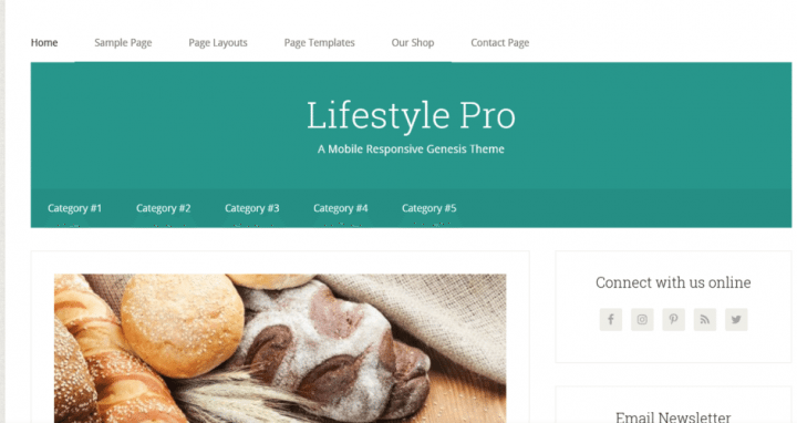 LifeStyle Pro – StudioPress Sites Theme