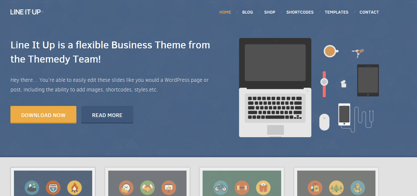 thesis theme business skins