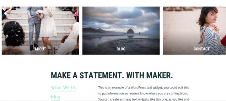 Maker Pro – 3rd Party Genesis Framework Theme