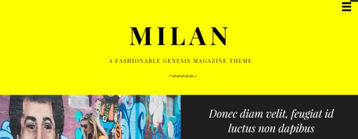 Milan Pro Theme