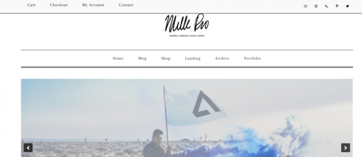 Milk Pro – 3rd Party Genesis Framework Theme