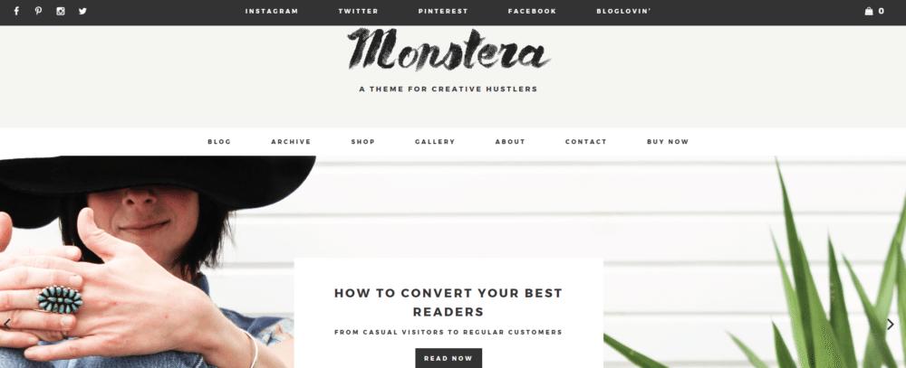 Monstera – 3rd Party Genesis Framework Theme