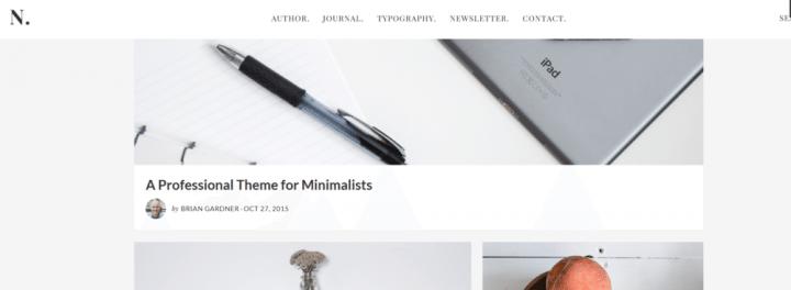 No Sidebar Pro – StudioPress Sites Theme