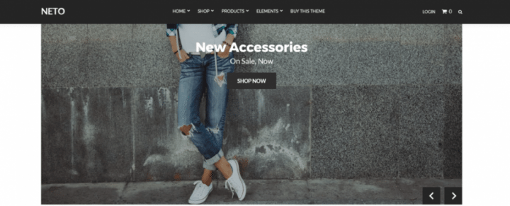 Neto – A State of The Art e-Commerce Theme