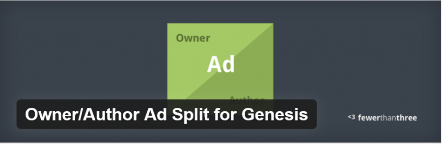 Owner&Author Ad Split For Genesis