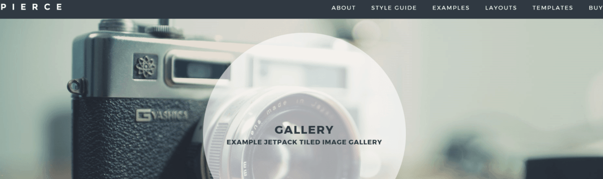 Pierce Gallery Page