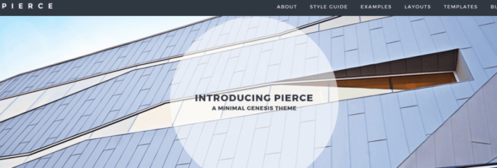 Pierce – 3rd Party Genesis Framework Theme
