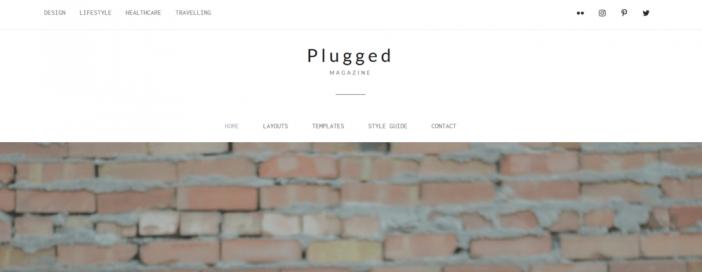 Plugged Theme