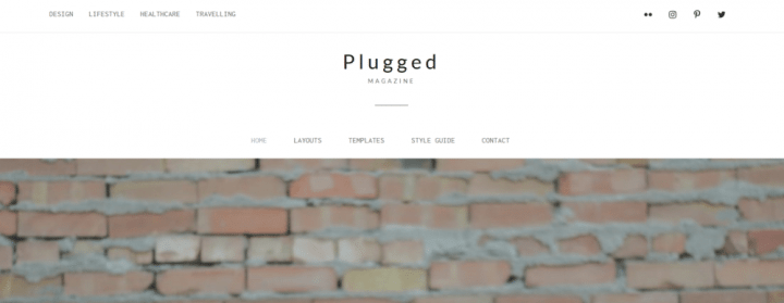 Plugged  – 3rd Party Genesis Framework Theme