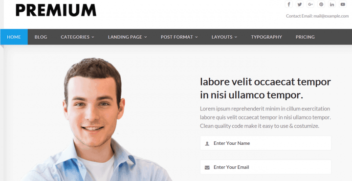 Premium – 3rd Party Genesis Framework Theme