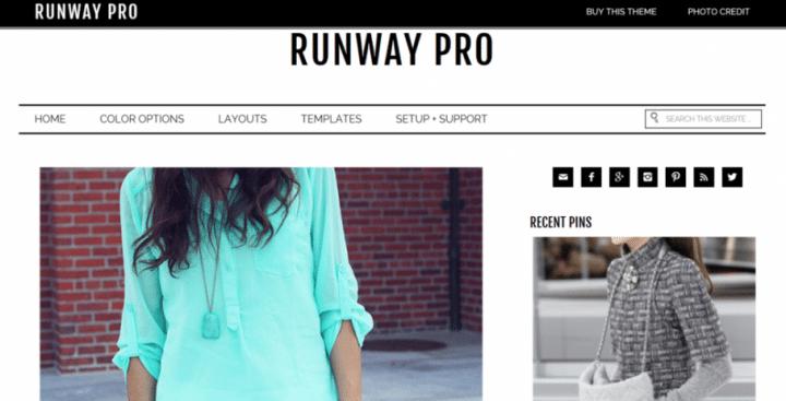 Runway Pro – 3rd Party Genesis Framework Theme