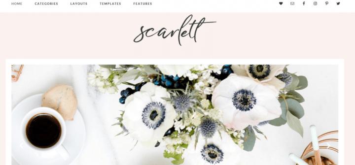 Scarlett – 3rd Party Genesis Framework  Theme