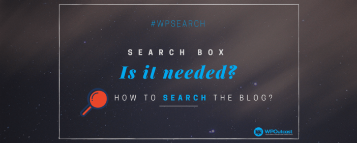 Search Box Widgets