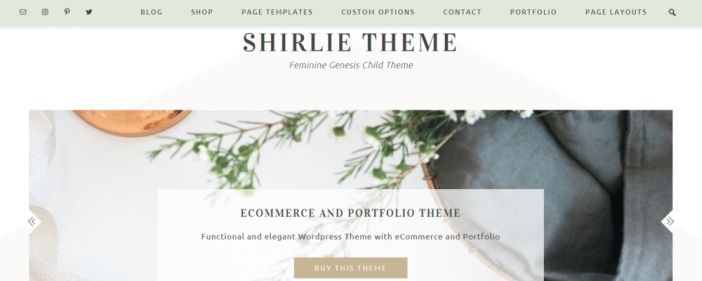 Shirlie Theme