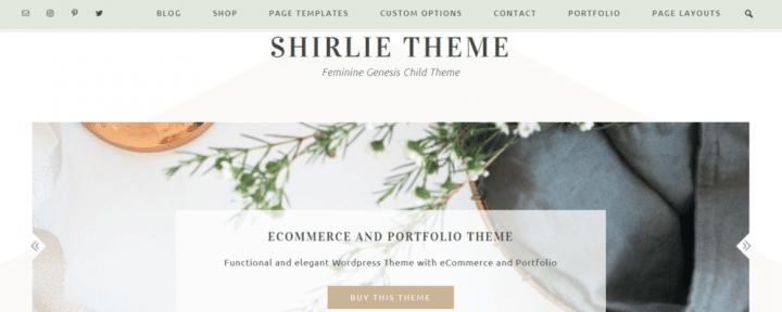 Shirlie – 3rd Party Genesis Framework Theme