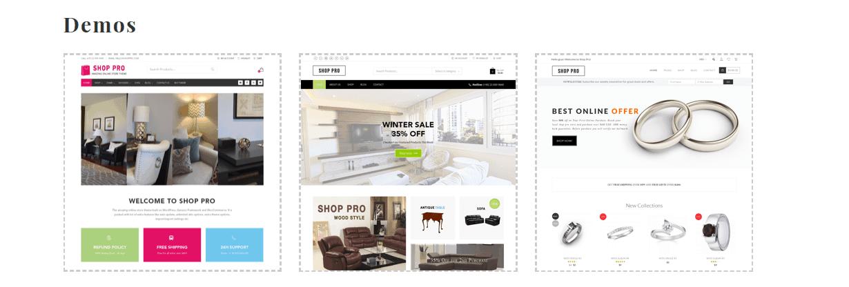 Shop Pro – 3rd Party Genesis Framework Theme