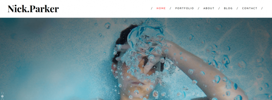 Shutter – A Portfolio Photography Theme