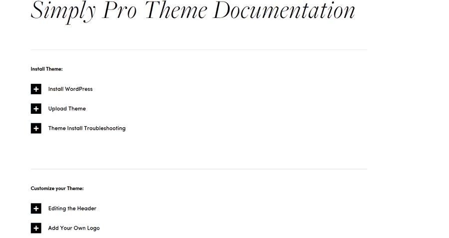 Simply Pro Docs
