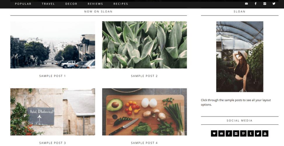 Sloan Homepage