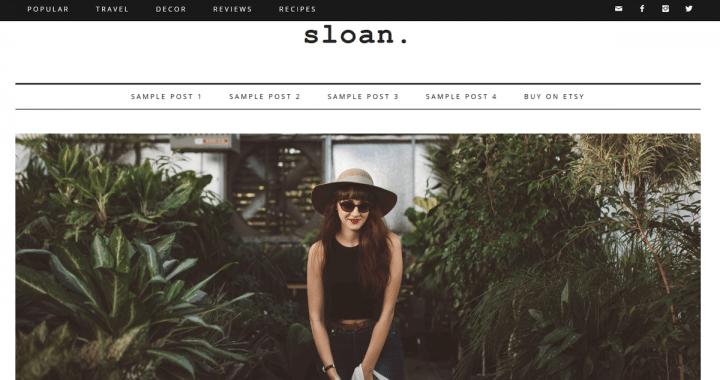 Sloan – 3rd Party Genesis Framework Theme