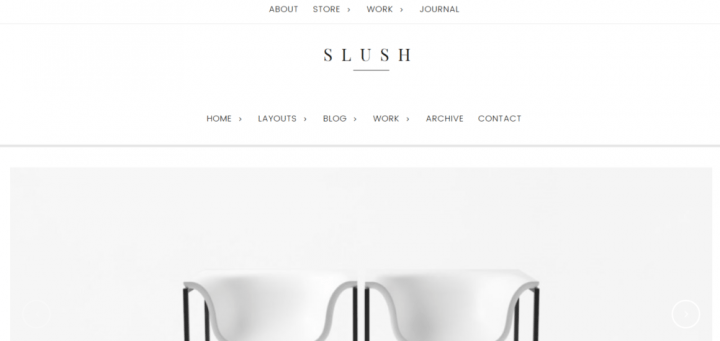 Slush – 3rd Party Genesis Framework Theme