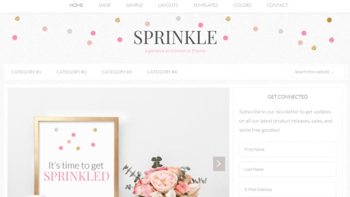 Sprinkle – 3rd Party Genesis Framework Theme