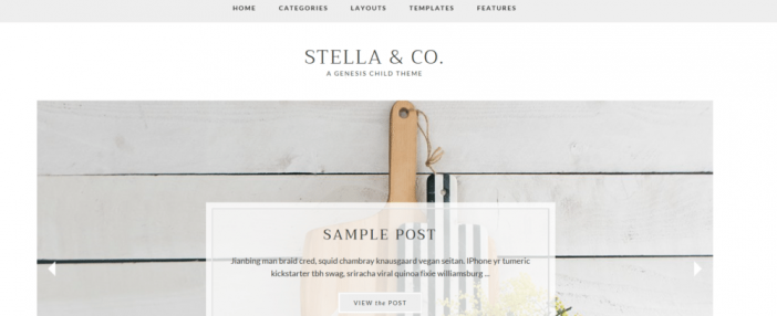 Stella & Co Theme