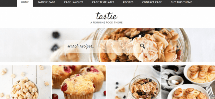 Tastie – 3rd Party Genesis Framework Theme