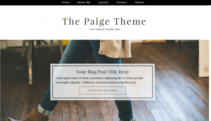 The Paige – 3rd Party Genesis Framework Theme