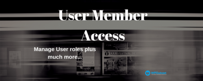 User Member Access Plugin