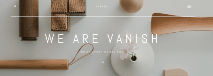 Vanish – 3rd Party Genesis Framework Theme