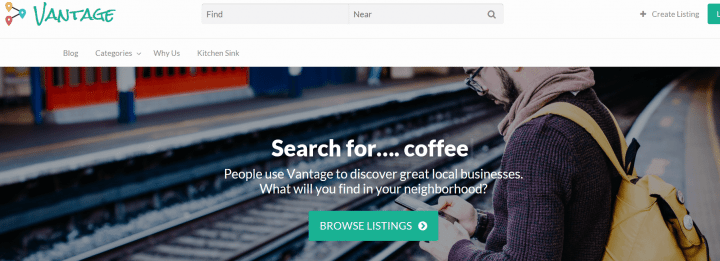 Vantage – The Number #1 Business Directory Theme