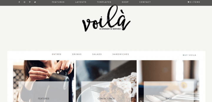 Volia – 3rd Party Genesis Framework Theme