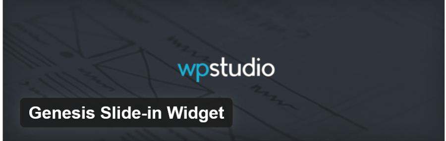WPStudio Genesis Slide-in Widget