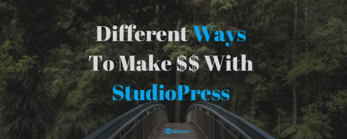 Ways To Earn With StudioPress