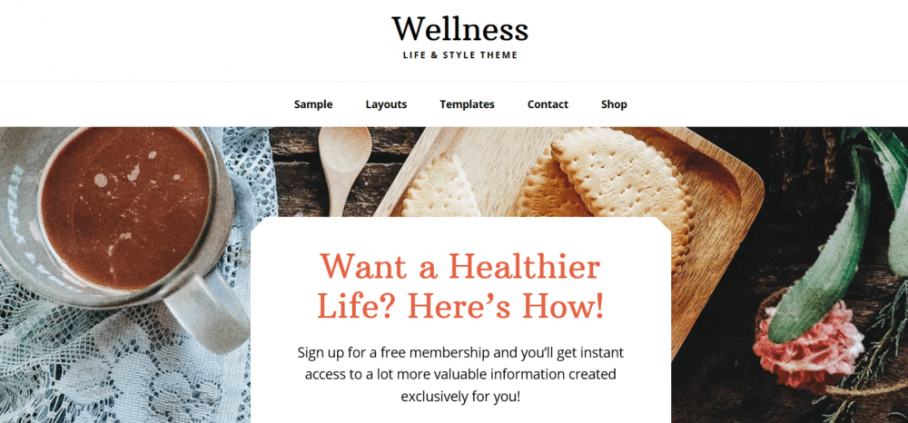 Wellness Pro – StudioPress Sites Theme