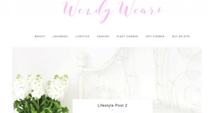 Wendy – 3rd Party Genesis Framework Theme