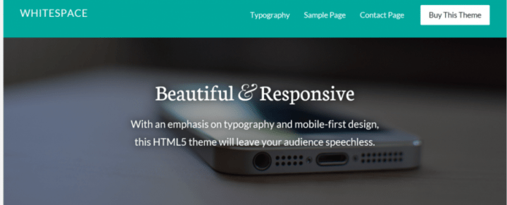 Whitespace Pro – StudioPress Sites Theme