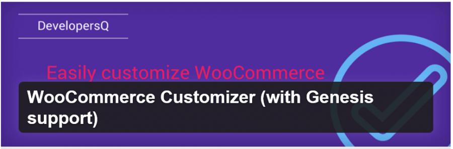 WooCommerce Customizer (Genesis Support)