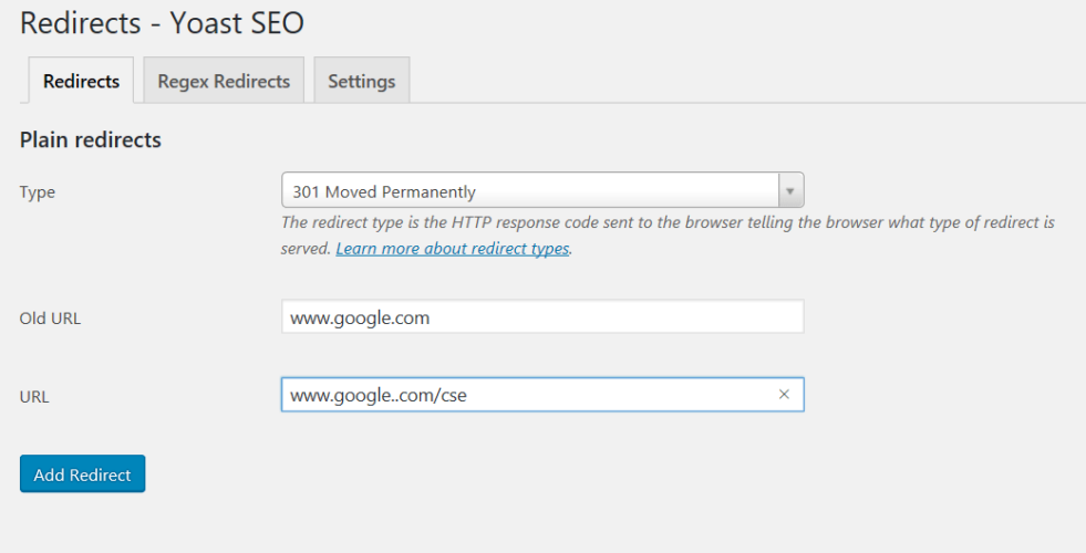 How To Make A Redirect URL Using Yoast Premium SEO Plugin