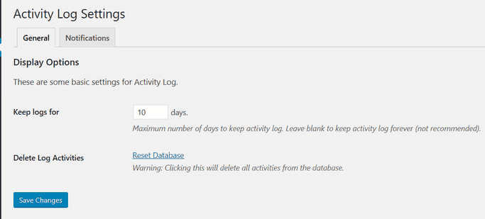 activity log image