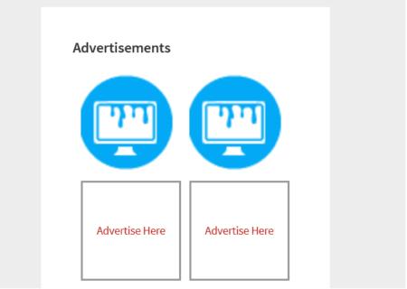 advertising blocks