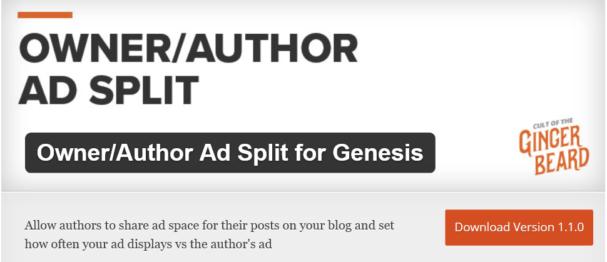 ad split for genesis
