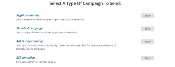 campaign send